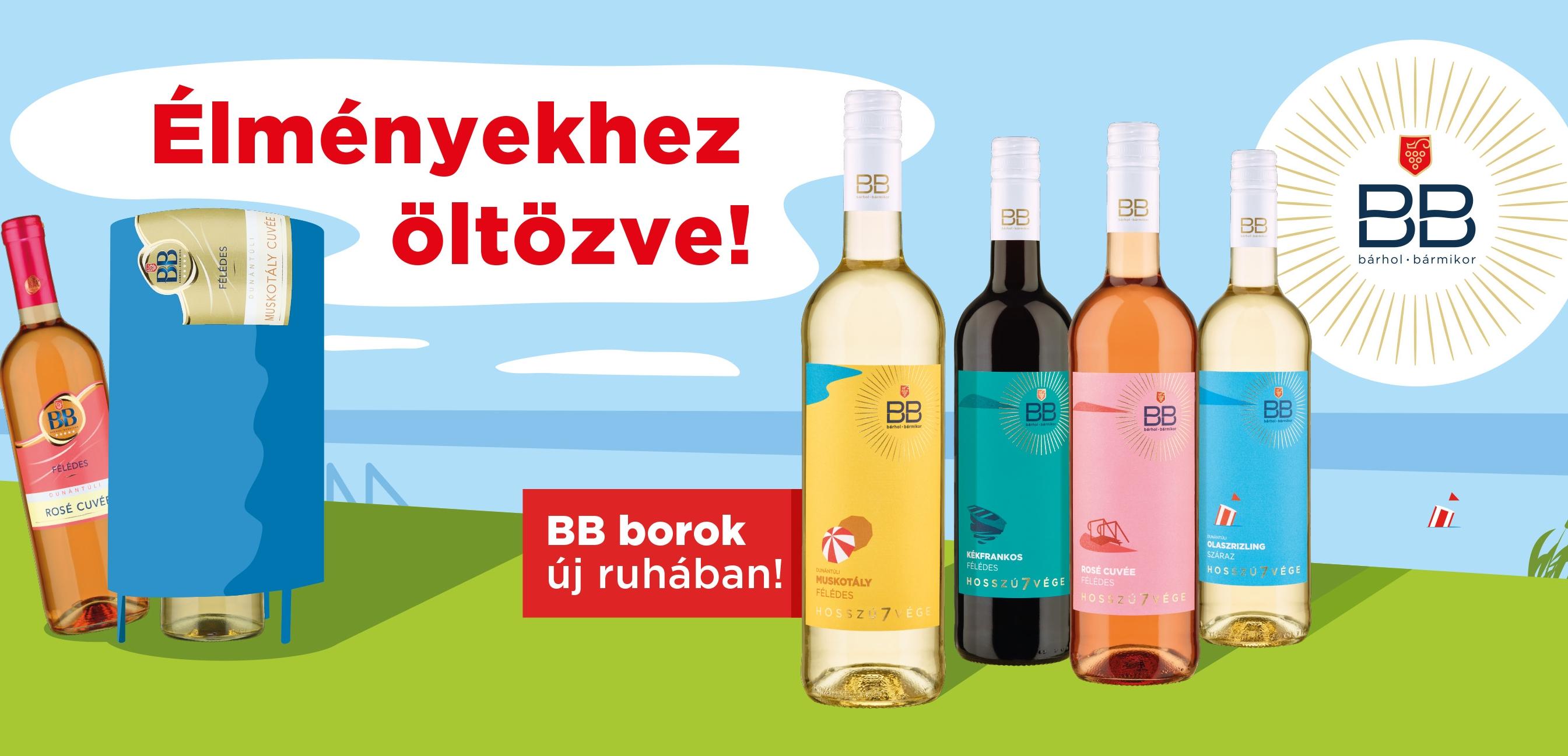 BB borok pohárban
